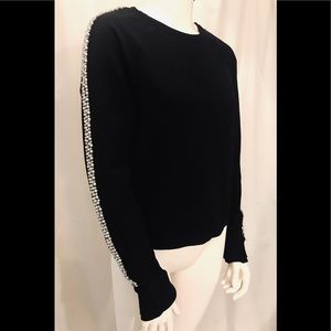 Juicy Couture Rhinestone trimmed top
